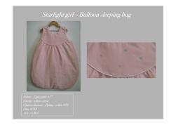 Baby, Girl, RtO - Balloon Sleeping Bag, Starlight